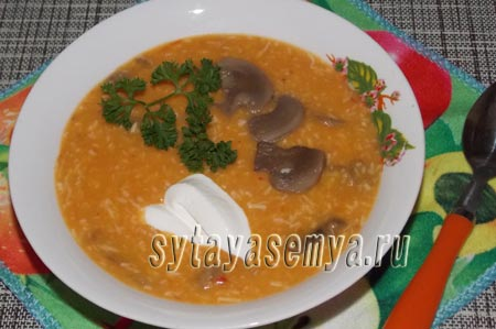 Как приготовить овощной суп-пюре рецепт