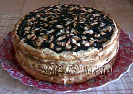 Торт из песочного теста. Песочный торт-pesochnyj-tort-recept