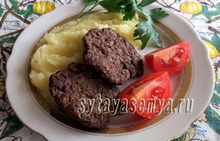 Рецепт печёночных котлет из куриной печени с фото пошагово