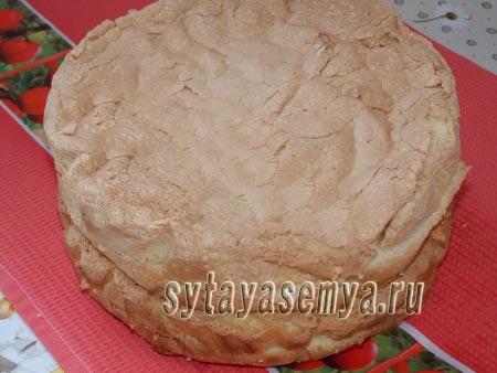 Как приготовить пышный бисквит 2 способа