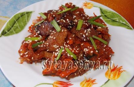 Пулькоги рецепт корейской кухни