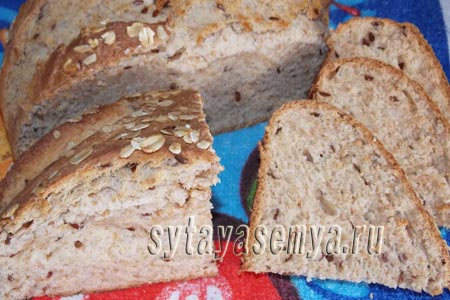 Как испечь цельнозерновой хлеб в духовке