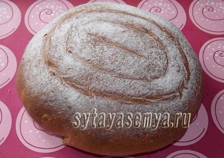 Как приготовить хлеб ржано-пшеничный с отрубями