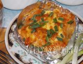 Миниатюра к статье Курица с картошкой в духовке в фольге (порционная)