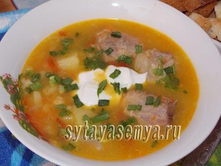 Как приготовить суп гороховый с мясом