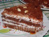 Миниатюра к статье Домашний торт Красный бархат