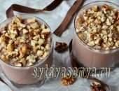 Миниатюра к статье Домашний шоколадный пудинг