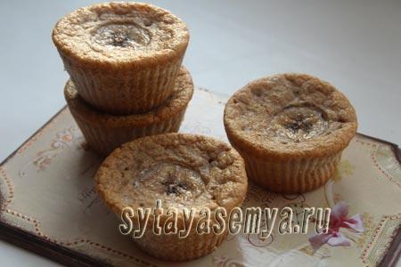 Как приготовить кексы из цельнозерновой муки на кефире