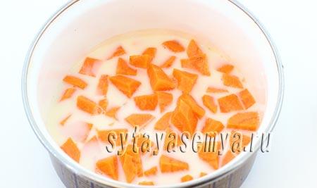 как приготовить морковное суфле