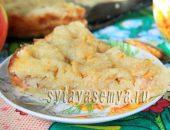 Миниатюра к статье Яблочный пирог с манкой