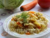 Миниатюра к статье Овощное рагу в мультиварке с кабачками и картофелем