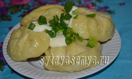 Манты с картошкой: пошаговый рецепт с фото