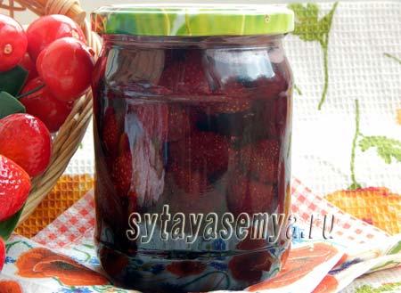 Как приготовить варенье из клубники и черешни в мультиварке