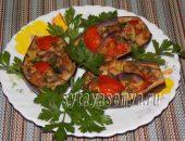Миниатюра к статье Лодочки из баклажанов в духовке с мясом и овощами