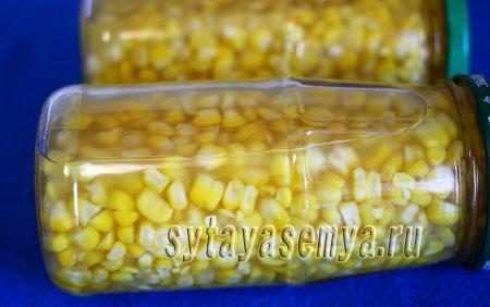 Как консервировать кукурузу на зиму