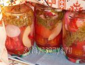 Миниатюра к статье Маринованное ассорти из овощей на зиму