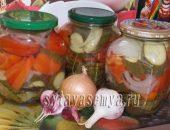 Миниатюра к статье Резаные огурцы с помидорами на зиму