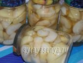 Миниатюра к статье Яблоки в сахарном сиропе на зиму