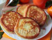 Миниатюра к статье Пышные оладьи на кефире с мандаринами