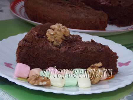 Ореховый торт в мультиварке рецепт