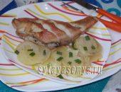 Миниатюра к статье Морской окунь в духовке с овощами