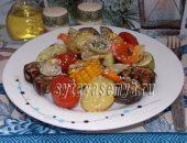 Миниатюра к статье Овощи, запеченные в духовке