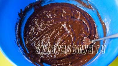 Шоколадные кексы Брауни рецепт с вишней