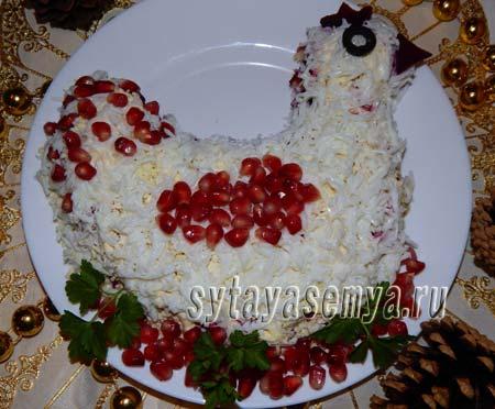 salat-kurochka-Салат «Курочка»