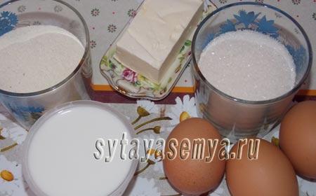 Манник на кефире в мультиварке пошаговый рецепт