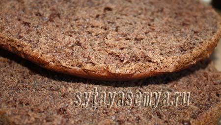 Шоколадный торт без яиц: пошаговый рецепт с фото