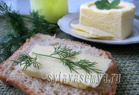 Сыр из творога и молока