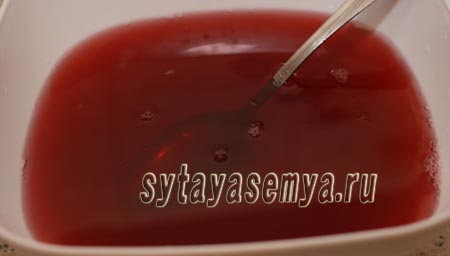 Домашнее желе из компота: пошаговый рецепт с фото