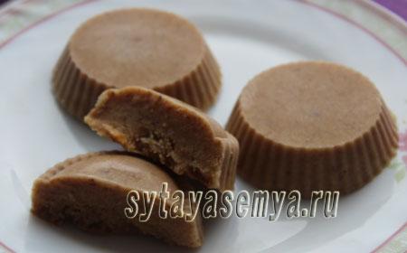 Диетические конфеты «Коровка»: пошаговый рецепт с фото