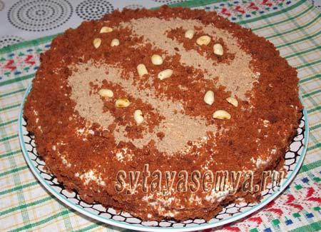 Как приготовить домашний торт Красный бархат пошаговый рецепт
