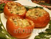 Миниатюра к статье Фаршированные помидоры в микроволновке