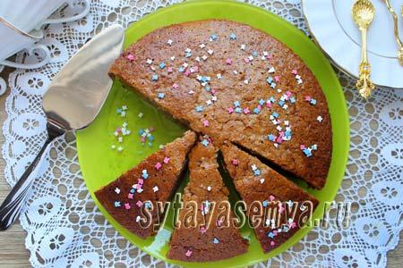 Как приготовить постный пирог с вареньем: