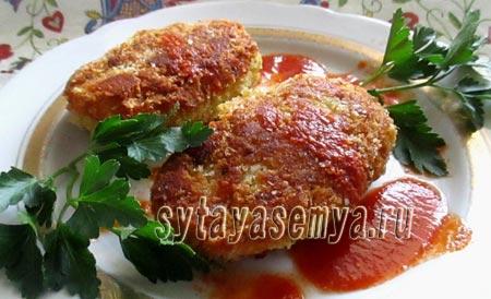 Гороховые котлеты вегетарианские: рецепт с фото
