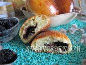 Миниатюра к статье Печеные пирожки с шелковицей