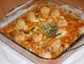 Миниатюра к статье Фрикадельки с овощами в духовке