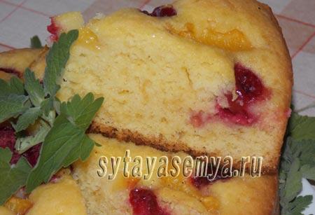 Как приготовить вкусный пирог со свежими абрикосами