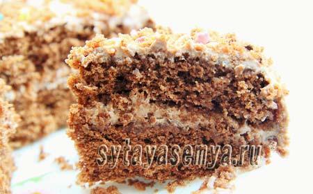Быстрый бисквит в микроволновке, рецепт с фото
