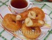 Миниатюра к статье Домашние пончики из дрожжевого теста на сковороде
