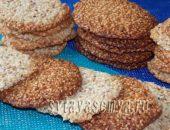 Миниатюра к статье Кунжутное печенье