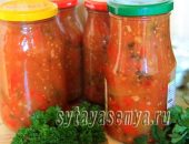 Миниатюра к статье Вкусное лечо из перца и помидор в мультиварке