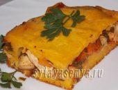 Миниатюра к статье Закусочный морковный пирог с мясом и болгарским перцем