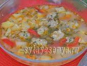 Миниатюра к статье Рецепт супа с фрикадельками в мультиварке