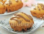 Миниатюра к статье Ванильные кексы с шоколадной крошкой