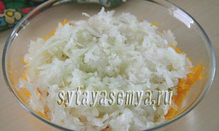 Тыквенно-картофельные блины с начинкой из печени