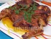 Миниатюра к статье Как приготовить цыпленка табака на сковороде
