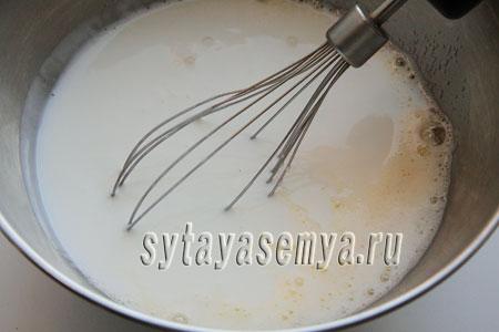 Оладьи на кефире с мандаринами, пошаговый рецепт с фото